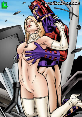 Magneto Uses His Babe Magnet To Fuck The White Queen - page01 BurnButt