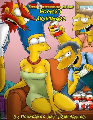 Homers Nightmare (English) - page00 Cover BurnButt