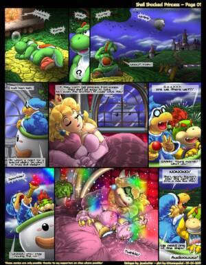 Shell Shocked Princess (English) - page01 BurnButt