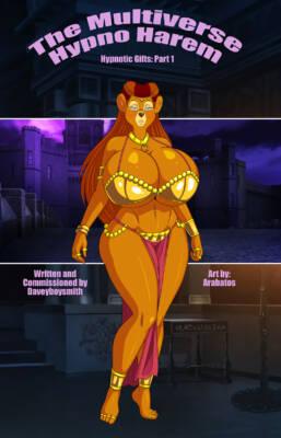 The Multiverse Hypno Harem (Spanish) - page00 Cover BurnButt