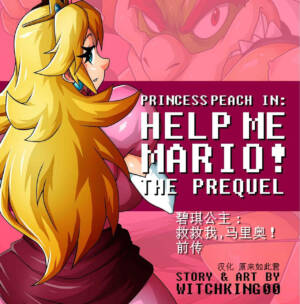 Princess Peach in Help Me Mario! The Prequel (Chinese) - page00 Cover BurnButt