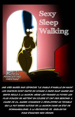 Sexy Sleep Walking (French) - page00 Cover BurnButt