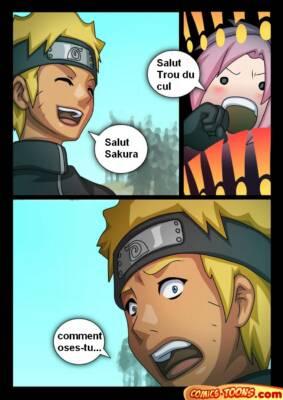 Sakura X Naruto (French) - page001 BurnButt
