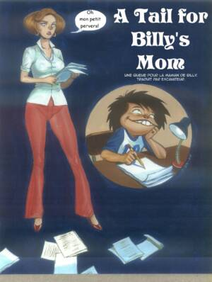 A Tail For Billys Mom Episode One (French Color) - page00a Cover BurnButt