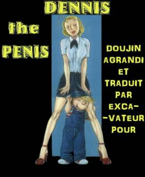 DENNIS the PENIS (French) - page00 Cover BurnButt