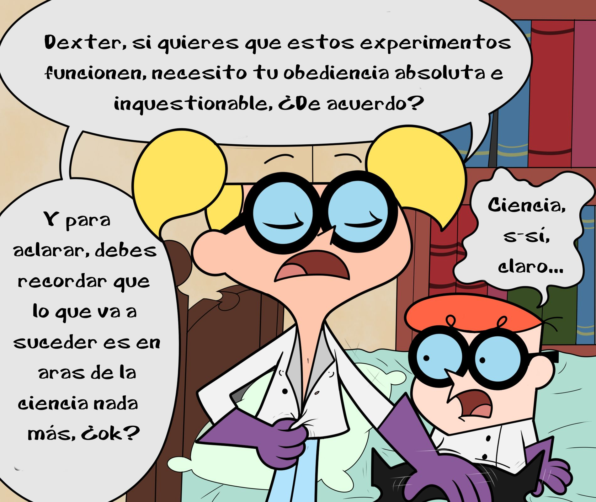 New Research (Spanish) - page01 Dexters Laboratory,  xxx porn rule34