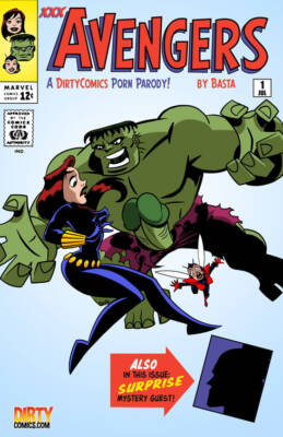 The Mighty xXx-Avengers - The Copulation Agenda - Part 1 (Spanish) - page00 Cover BurnButt