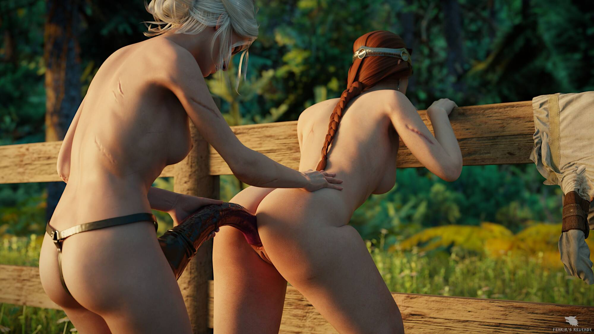Favorite Horses #3 - Ciri and Cerys At The Meadow - page05 Witcher,  xxx porn rule34