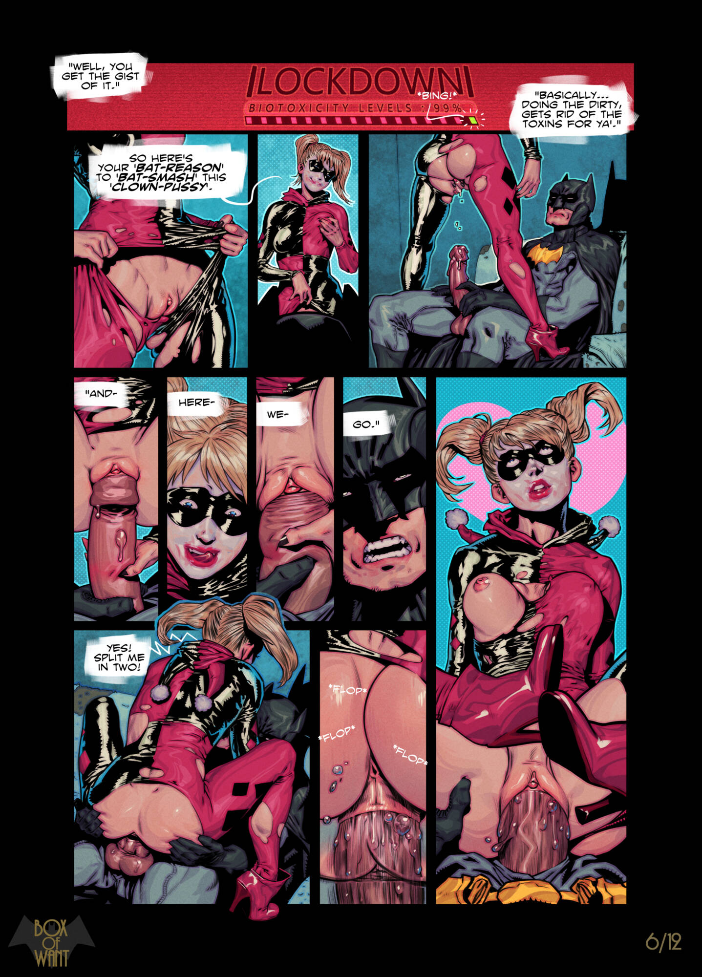 Planned Backfire (English) - page06 Batman,DC Comics,  xxx porn rule34