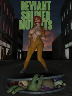 Deviant Soldier Mutants (Spanish) - page00 Cover BurnButt