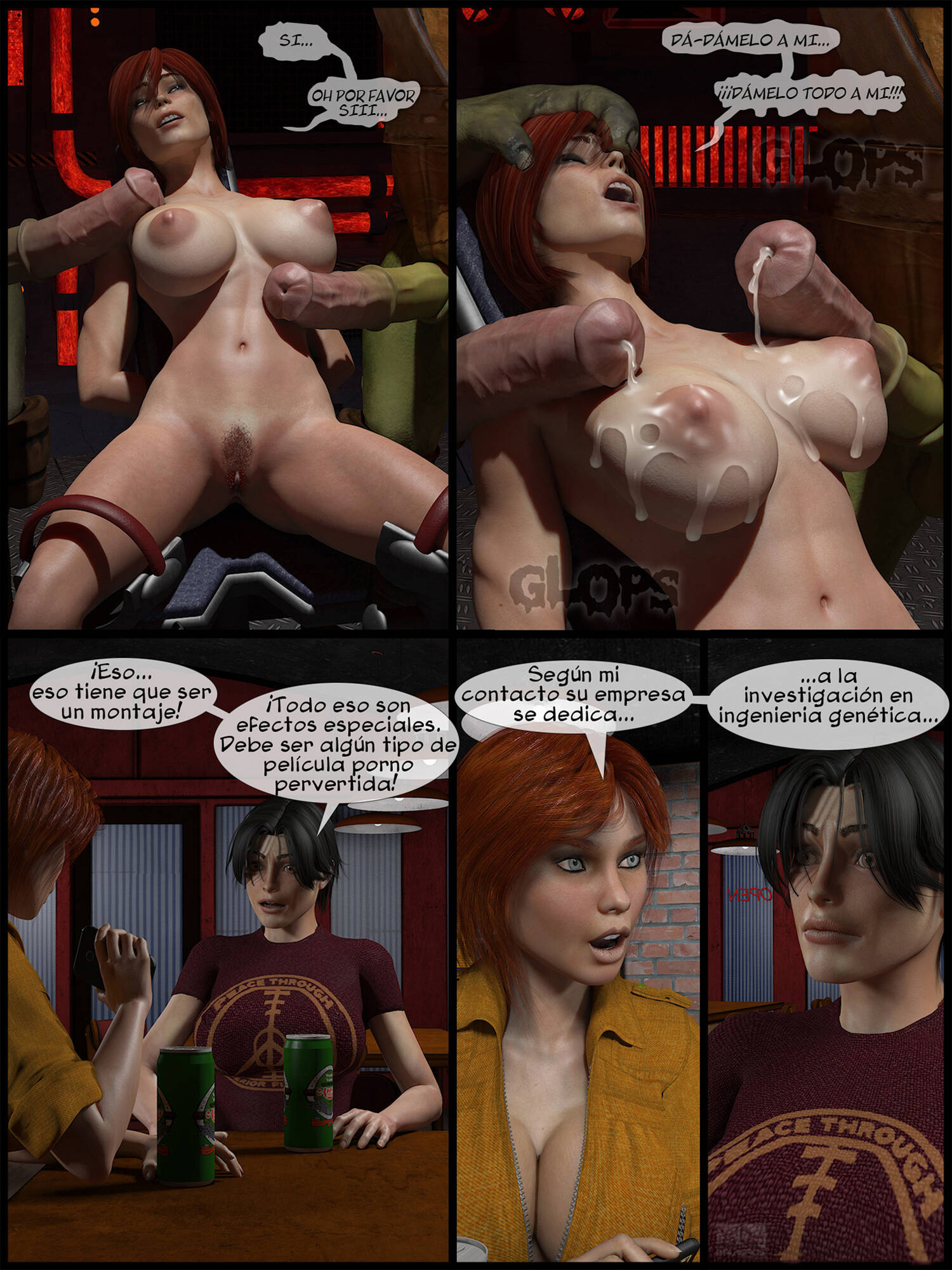 Deviant Soldier Mutants (Spanish) - page04 Teenage Mutant Ninja Turtles,  xxx porn rule34
