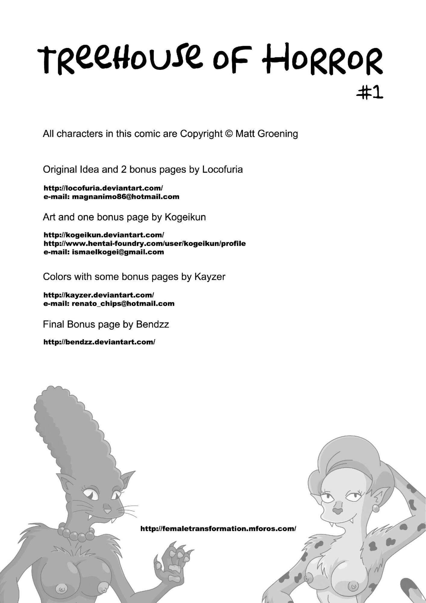 Treehouse of Horror 1 (Italian) - page00b Simpsons,  xxx porn rule34