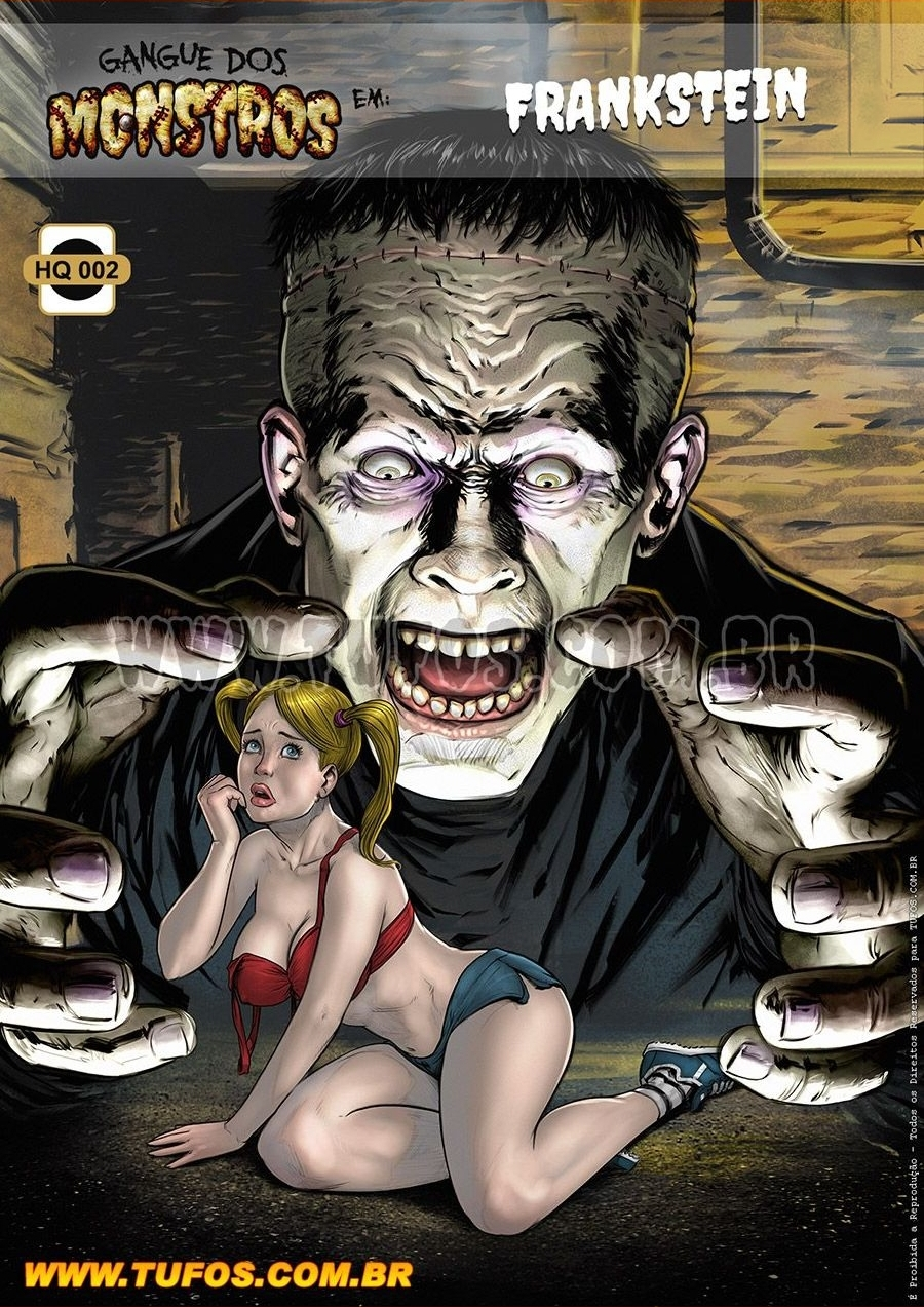 Gangue Dos Monstros 2 - Frankstein (Portuguese) - page00 Cover Frankenstein,  xxx porn rule34