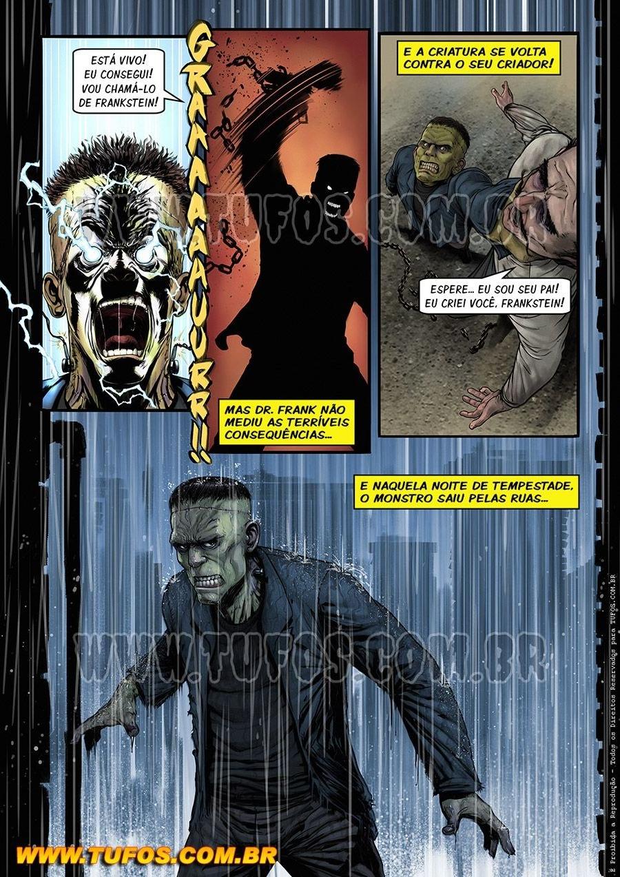 Gangue Dos Monstros 2 - Frankstein (Portuguese) - page02 Frankenstein,  xxx porn rule34