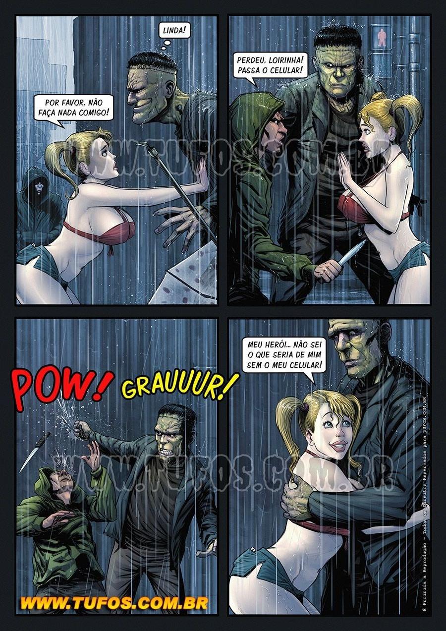 Gangue Dos Monstros 2 - Frankstein (Portuguese) - page04 Frankenstein,  xxx porn rule34