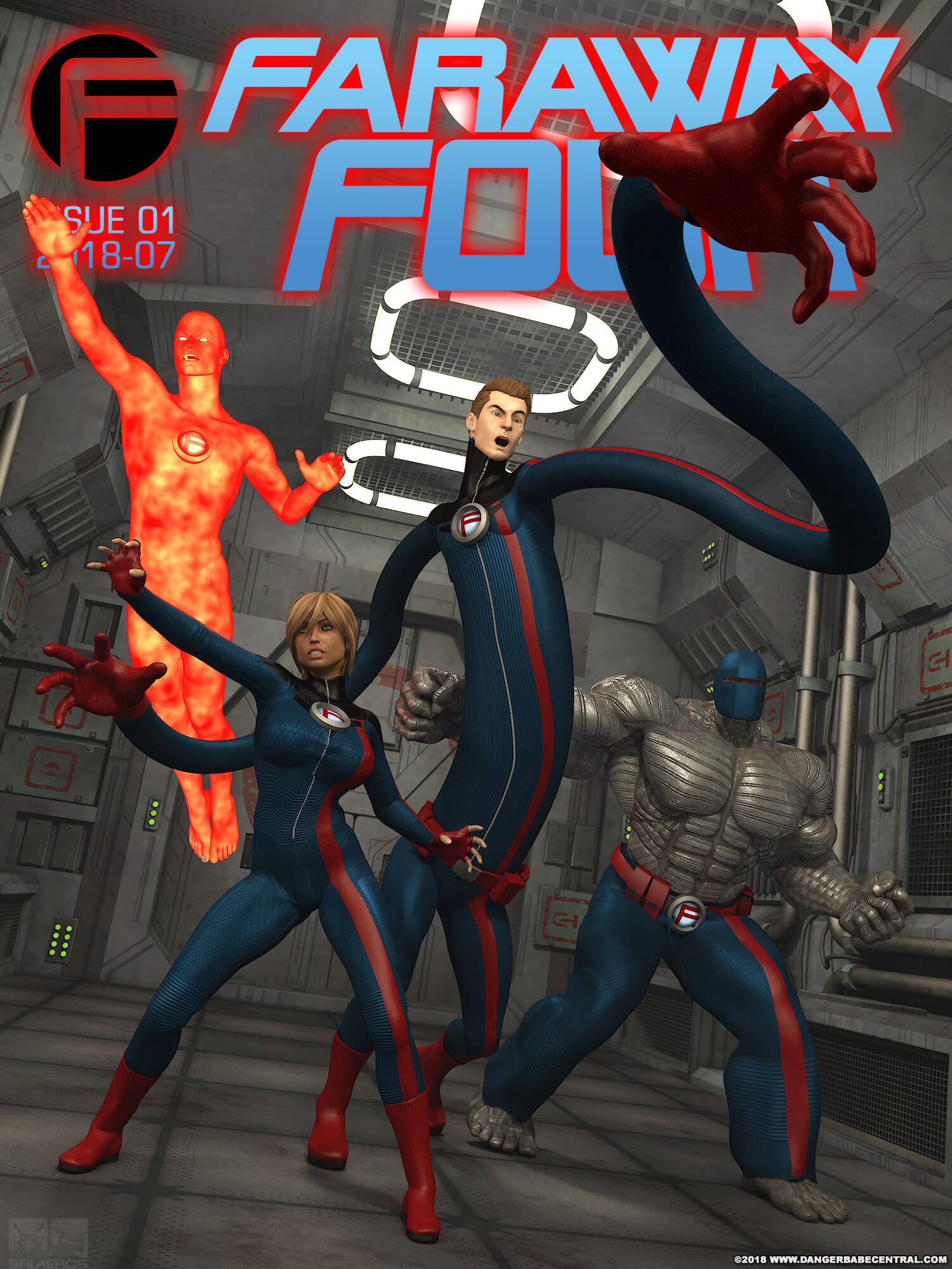 FarAway Four! (Spanish) - page00 Cover Fantastic Four,Marvel Universe,  xxx porn rule34