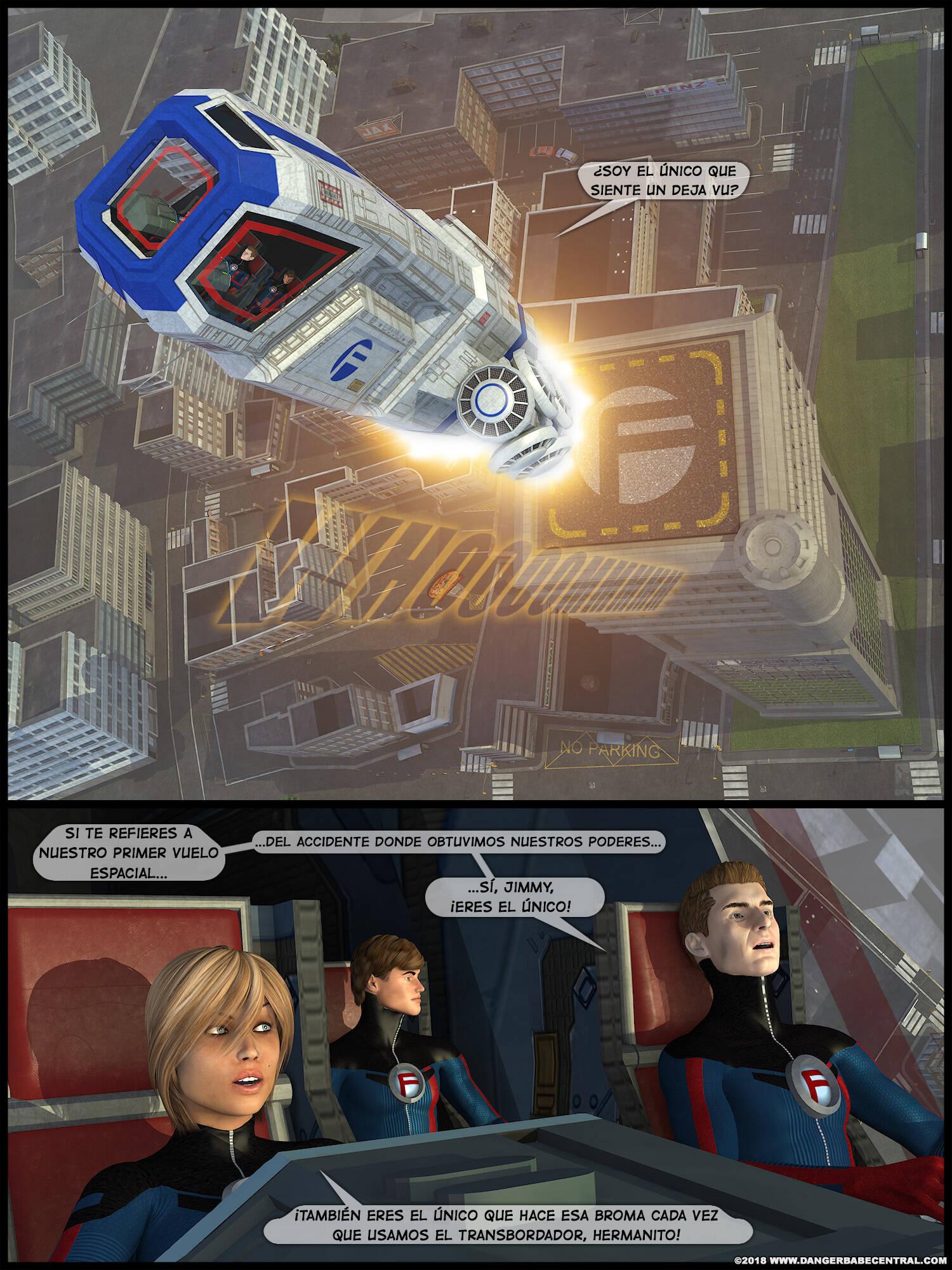 FarAway Four! (Spanish) - page01 Fantastic Four,Marvel Universe,  xxx porn rule34