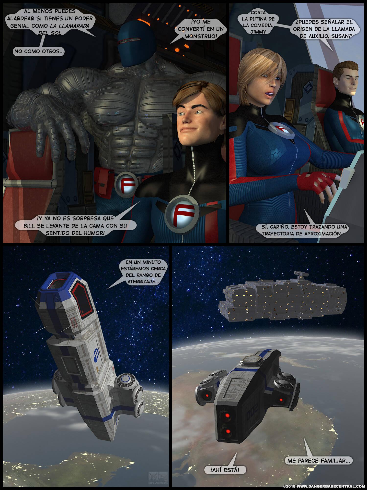 FarAway Four! (Spanish) - page02 Fantastic Four,Marvel Universe,  xxx porn rule34