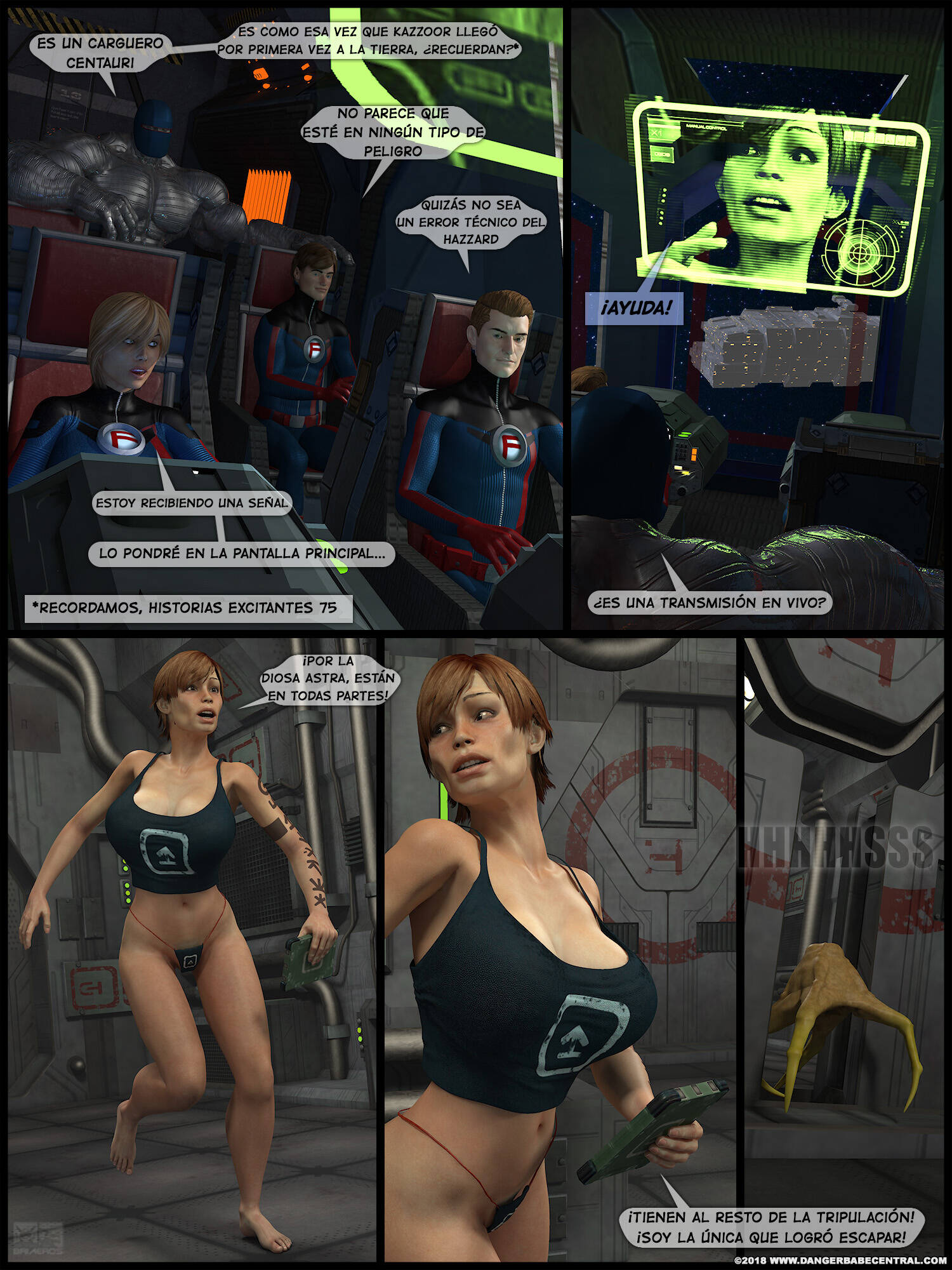 FarAway Four! (Spanish) - page03 Fantastic Four,Marvel Universe,  xxx porn rule34