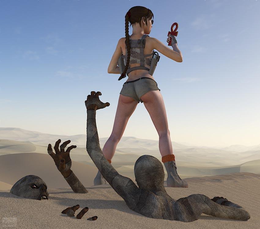 Lara Desert - page02 Tomb Raider,  xxx porn rule34