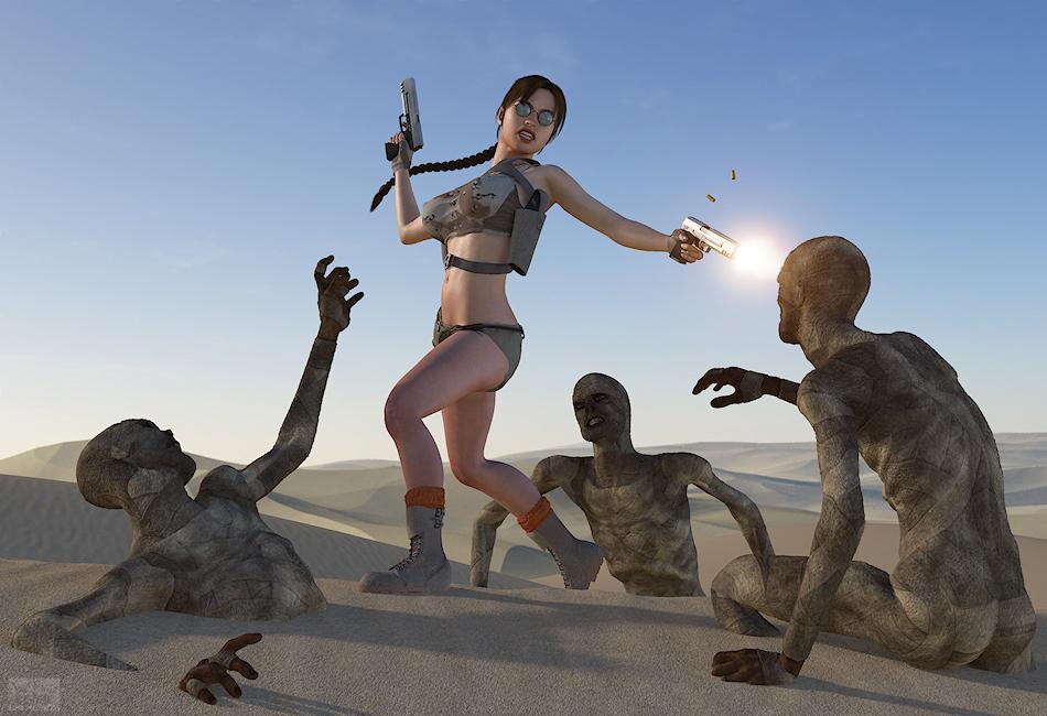 Lara Desert - page03 Tomb Raider,  xxx porn rule34