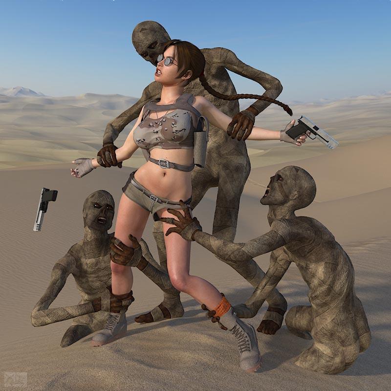 Lara Desert - page04 Tomb Raider,  xxx porn rule34