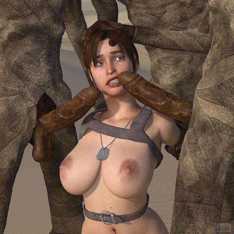 Lara Desert - page07 Tomb Raider,  xxx porn rule34