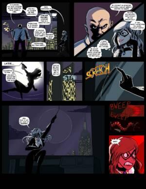 Black Cat's Luck - page01 BurnButt