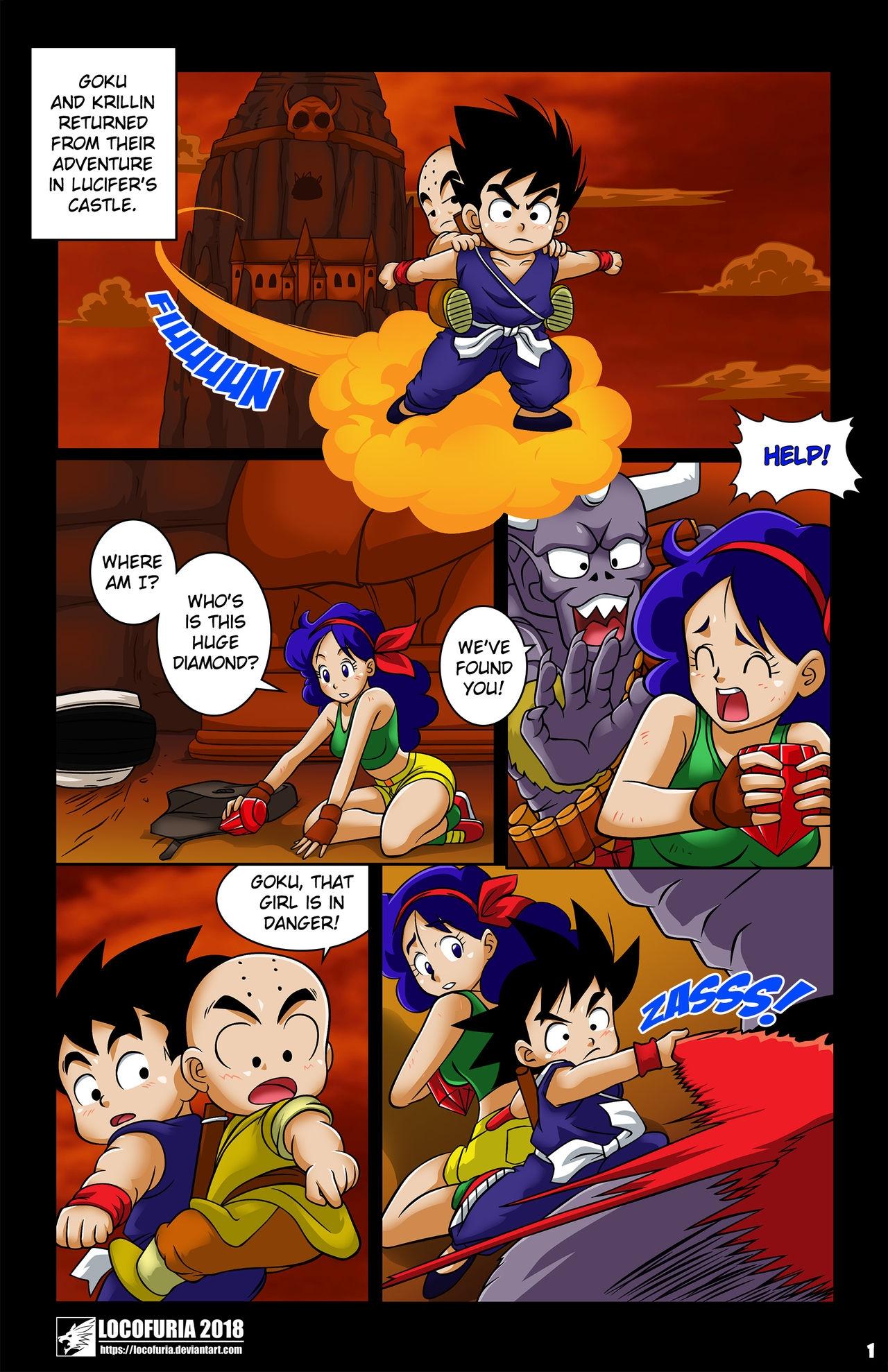 Evil Coronation 2 (English) - page01 Dragon Ball,  xxx porn rule34