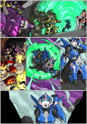 Arcee Comic (NA) - page01 BurnButt