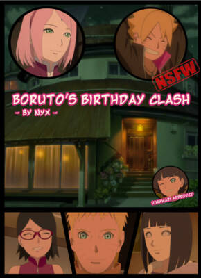 Boruto's Birthday Gift (English) - page00 BurnButt