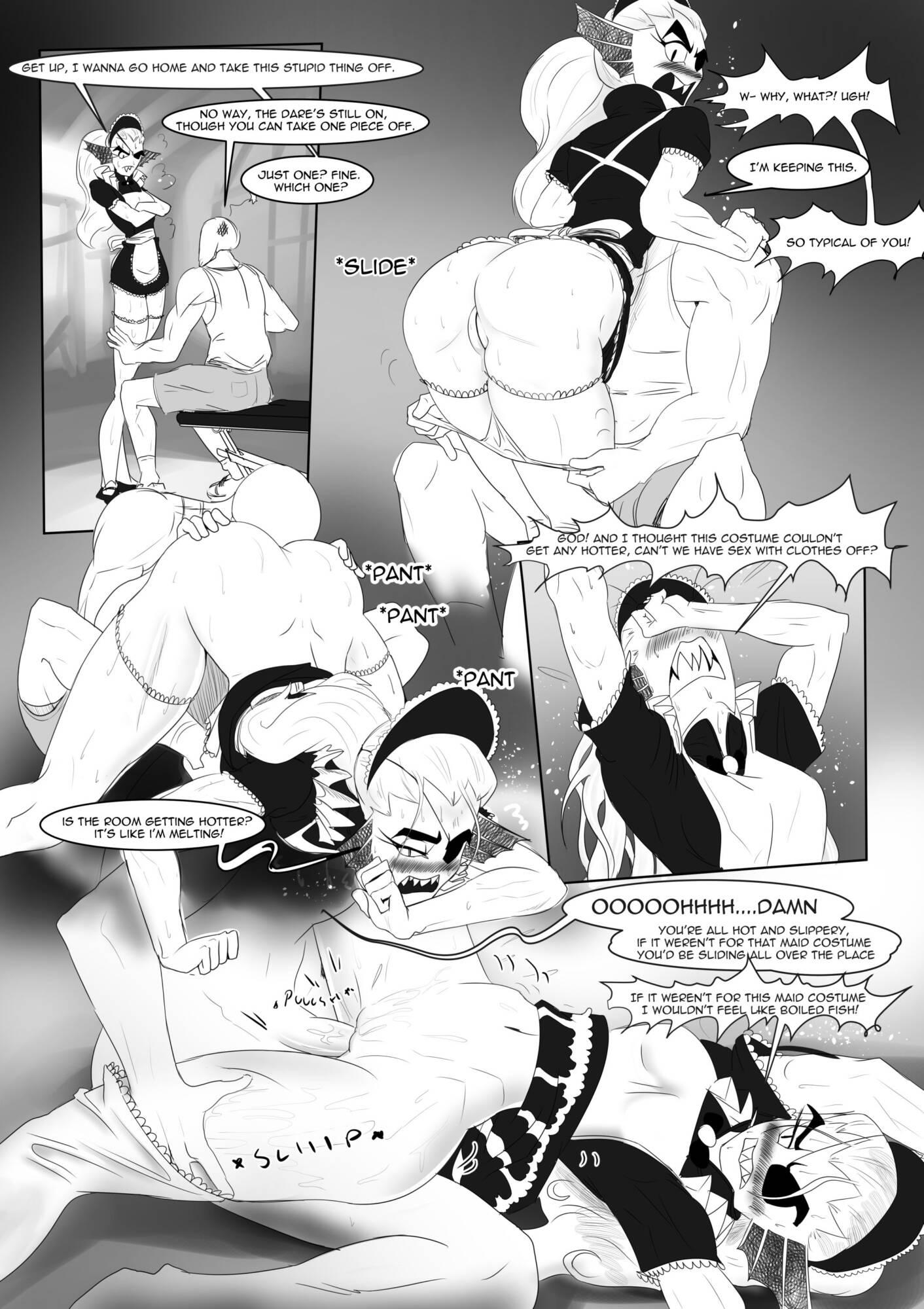 Battle Against a True Nympho - Story 1 (English) - page04 Undertale,  xxx porn rule34
