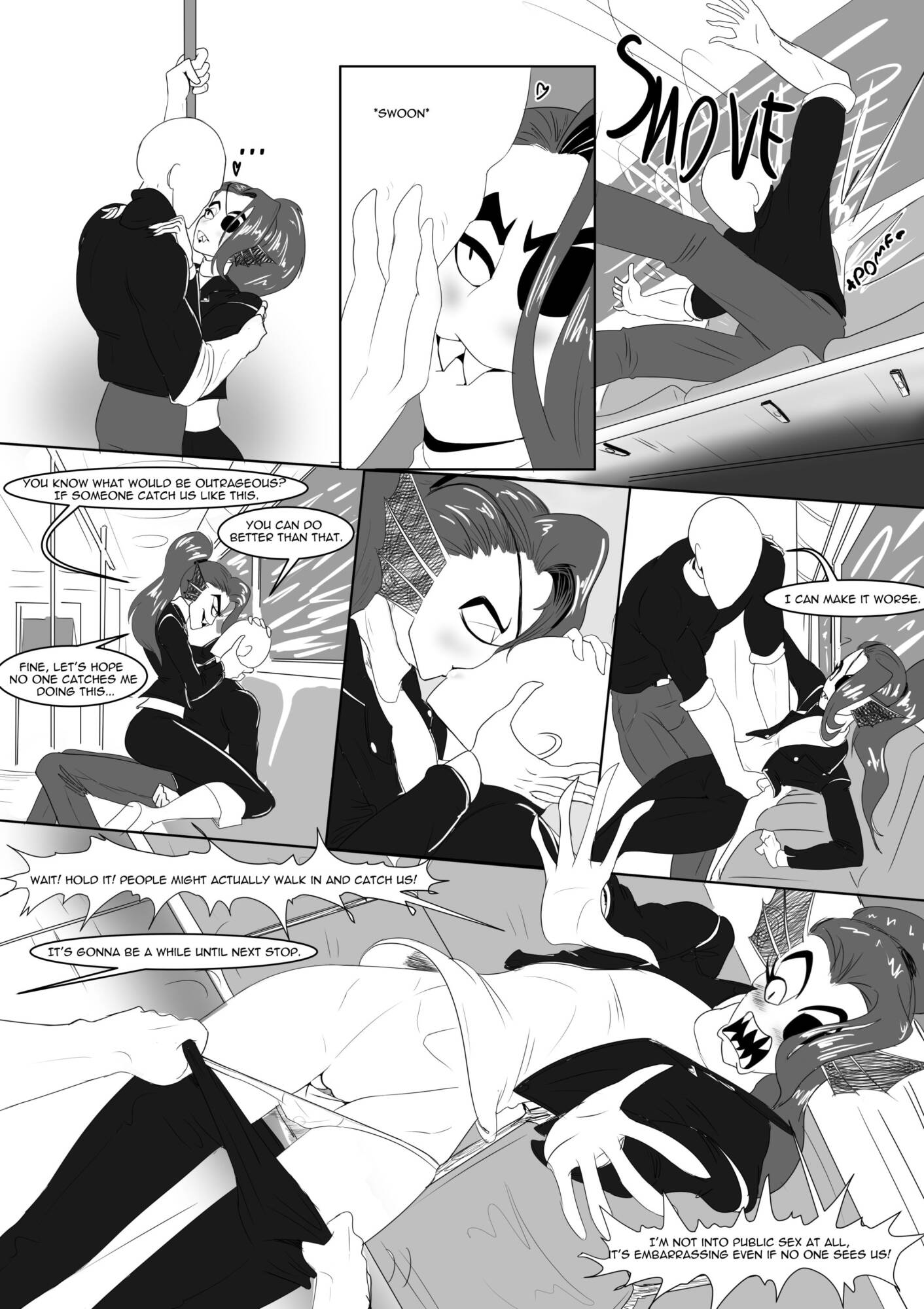 Battle Against a True Nympho - Story 2 (English) - page09 Undertale,  xxx porn rule34