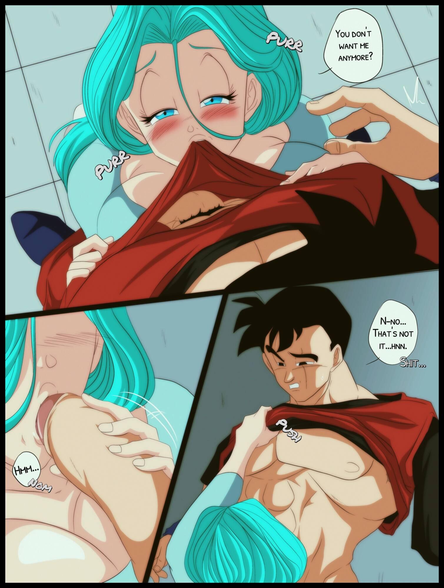 Desire - Gohan x Bulma (English) - page05 Dragon Ball,  xxx porn rule34