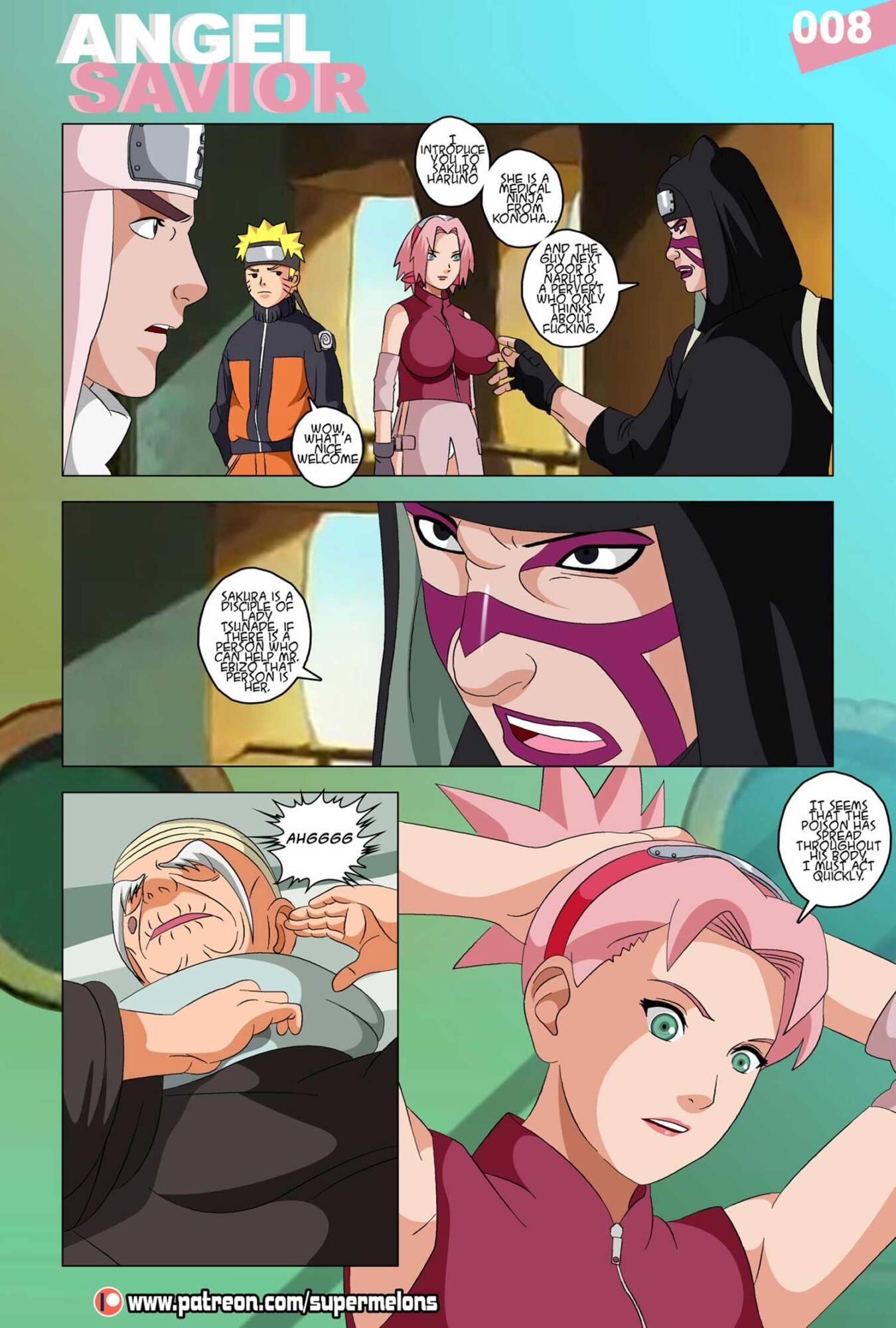 Angel Savior (English) - page08 Naruto,  xxx porn rule34
