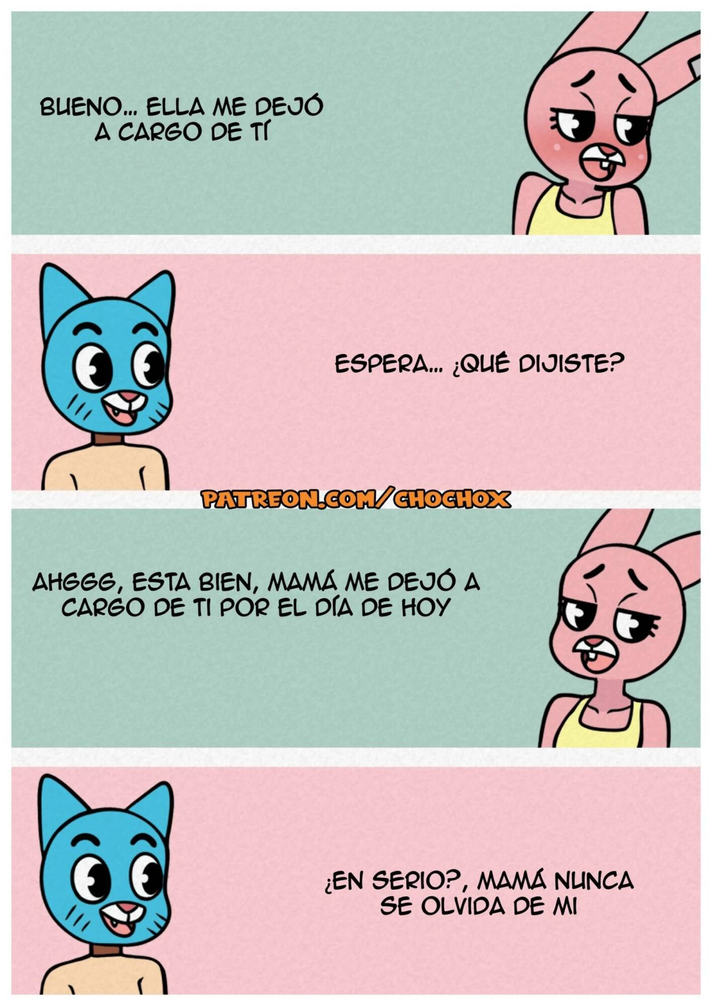 The Amazing Gumball Christmas (Spanish) - page07 Amazing World Of Gumball,  xxx porn rule34