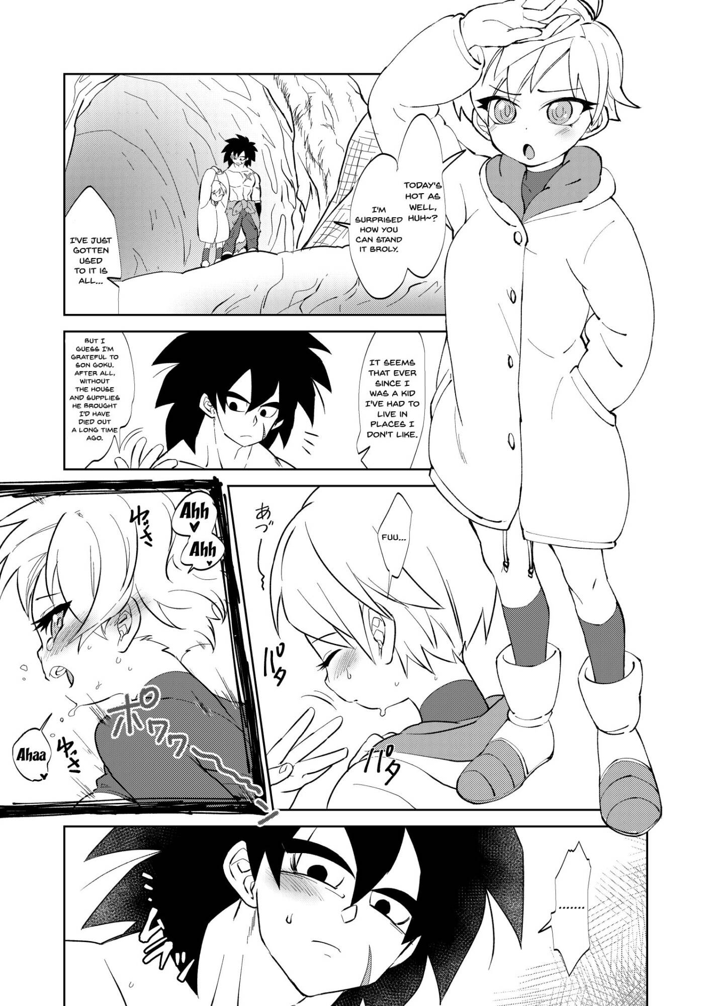Broly x Cheelai Omake (English) - page01 Dragon Ball,  xxx porn rule34