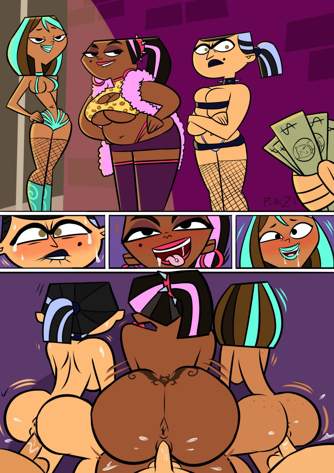 Total Street Walkers - page01 Total Drama Island,  xxx porn rule34