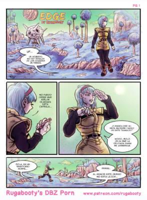 Edge - A VegeBul Comic (Spanish) - page01 BurnButt