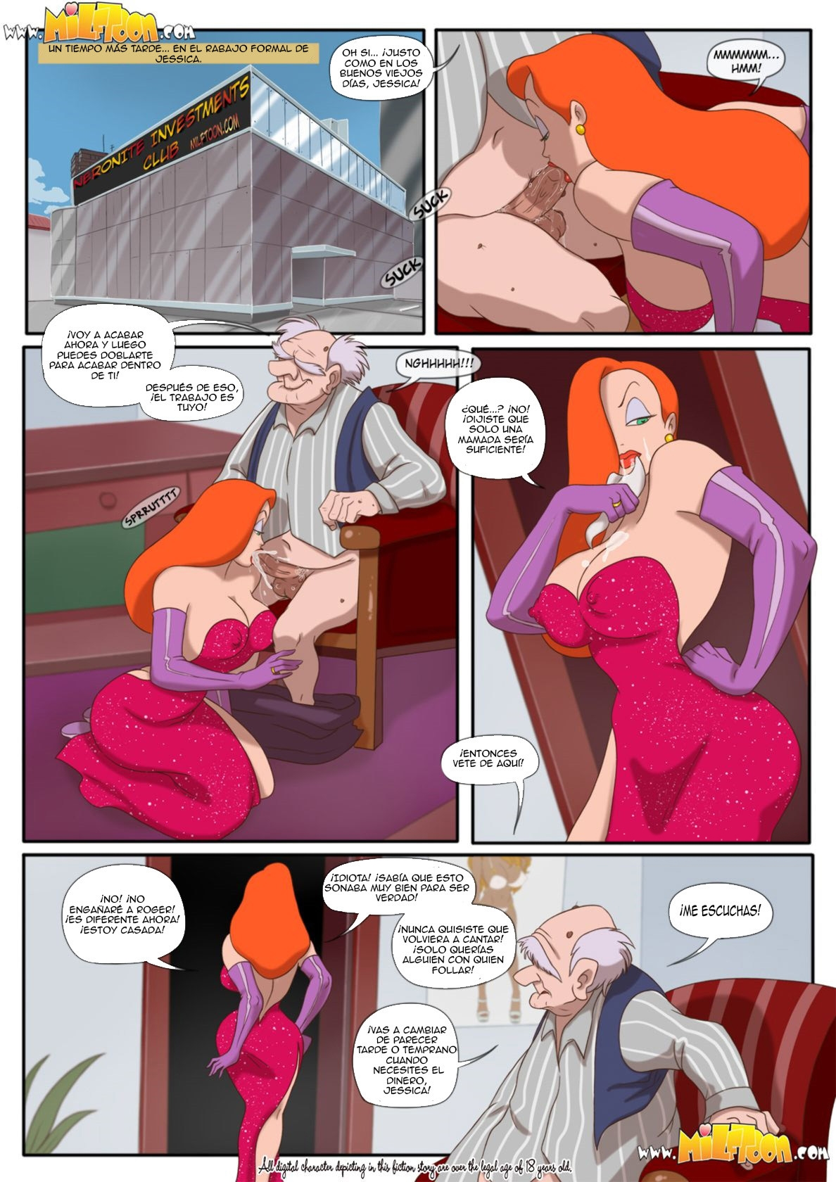 Jessica Rabtits 1 (Spanish) - page02 Aristocats,Crossover,Iron Giant,Who Framed Roger Rabbit,  xxx porn rule34