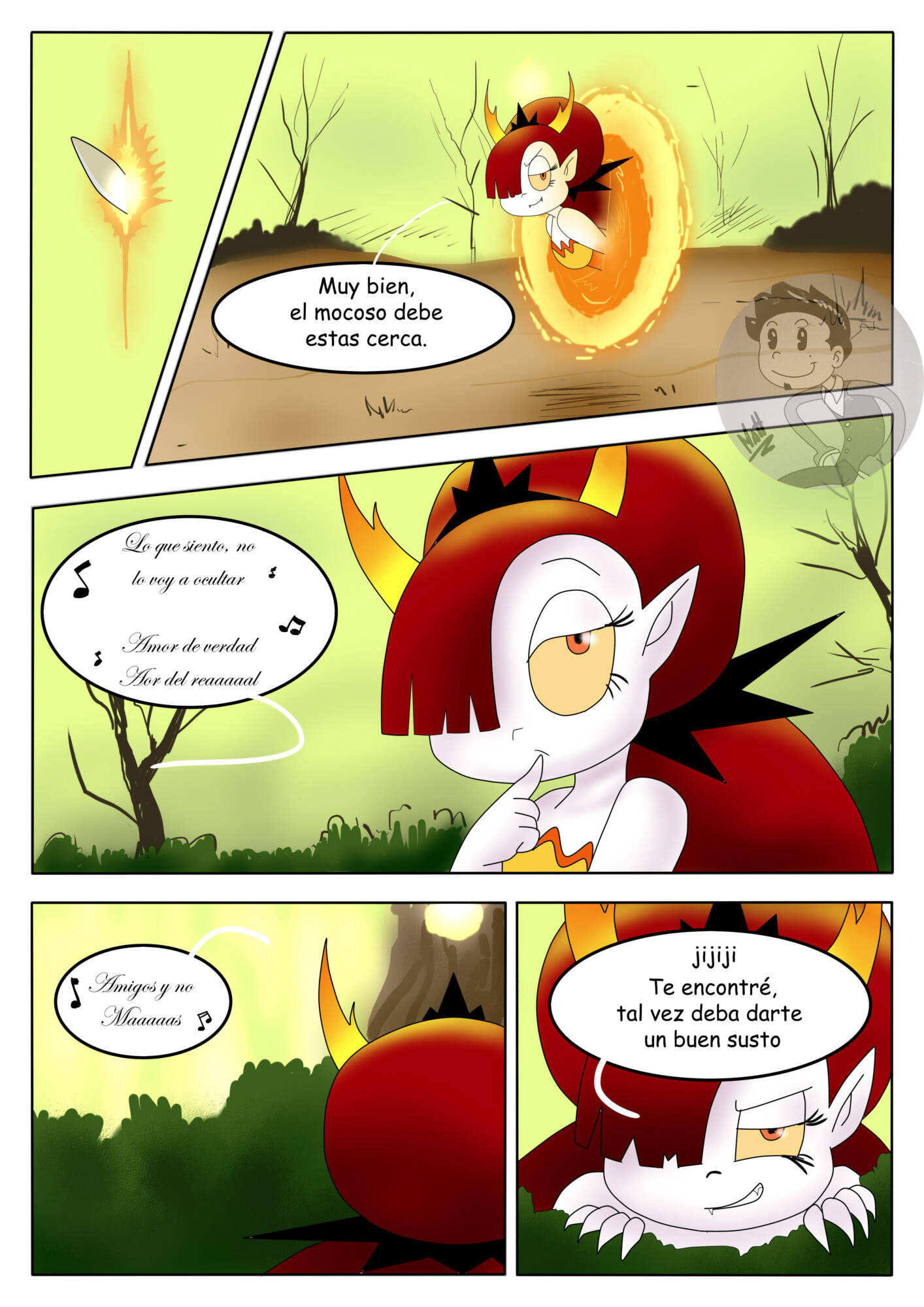 Reencuentro (Spanish) - page09 Star Vs The Forces Of Evil,  xxx porn rule34