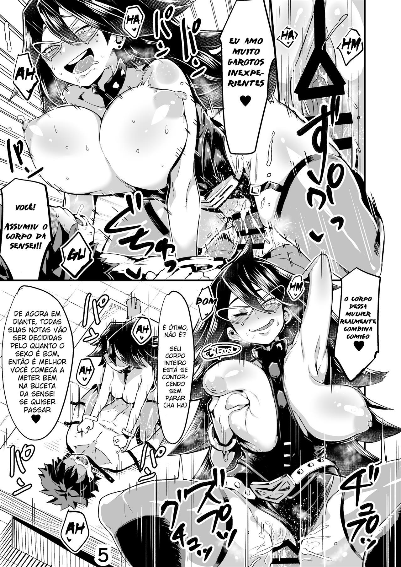 Boku to Nottori Villain Nakademia Vol 2 (Portuguese) - page05 My Hero Academia,  xxx porn rule34