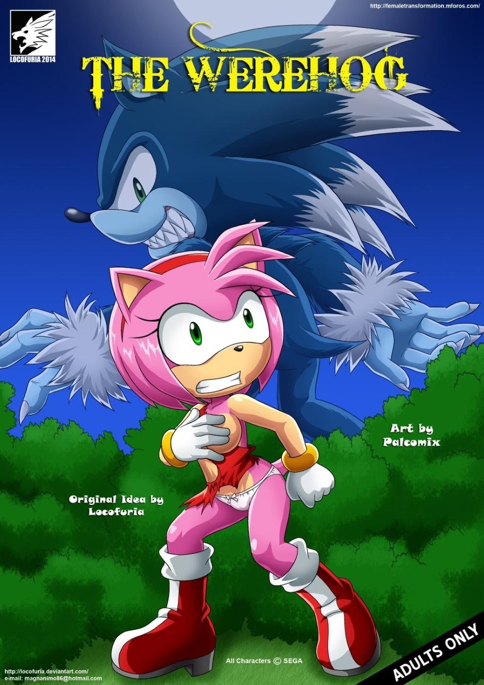 The Werehog 1 (Arabic) - page00 Cover Sonic,  xxx porn rule34