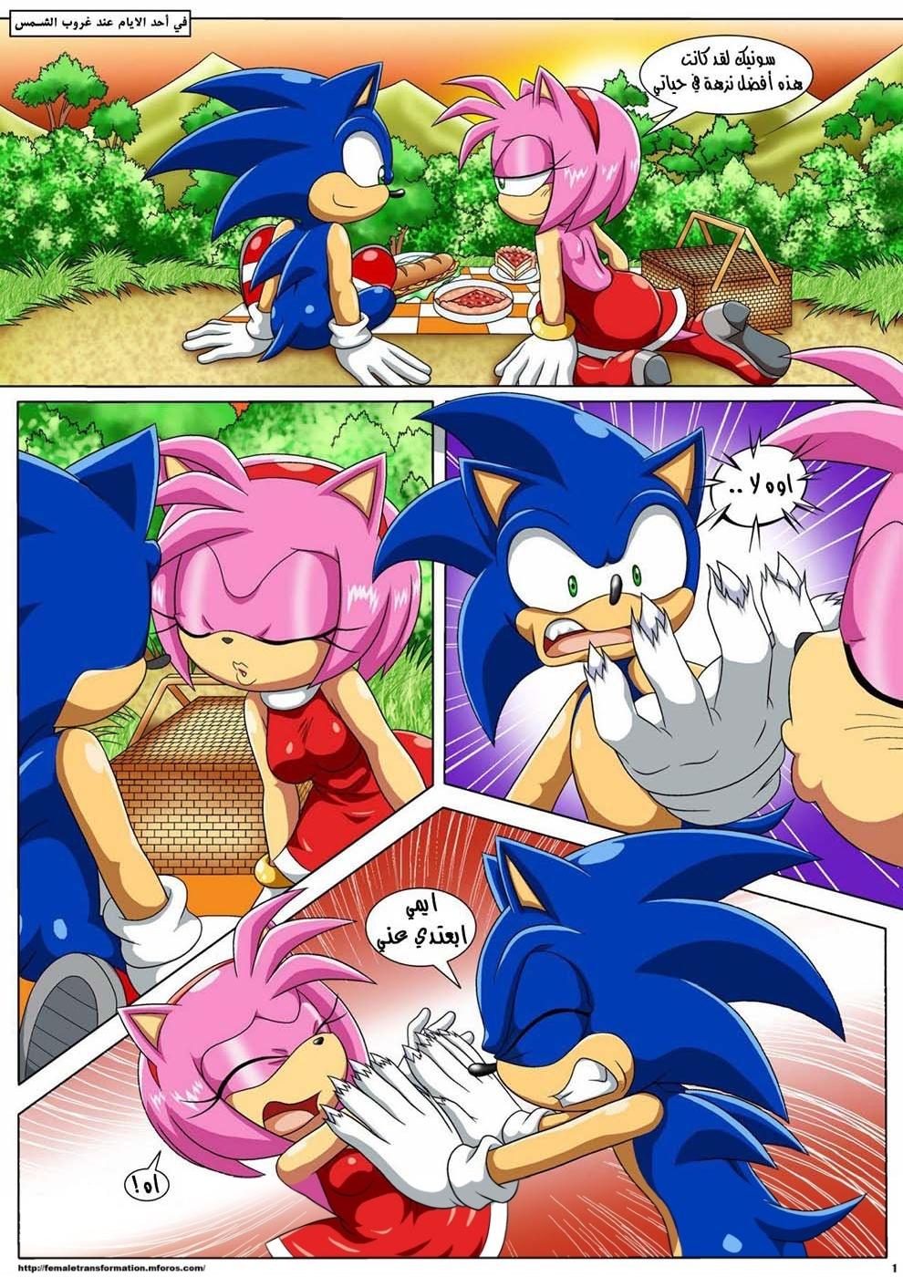 The Werehog 1 (Arabic) - page01 Sonic,  xxx porn rule34