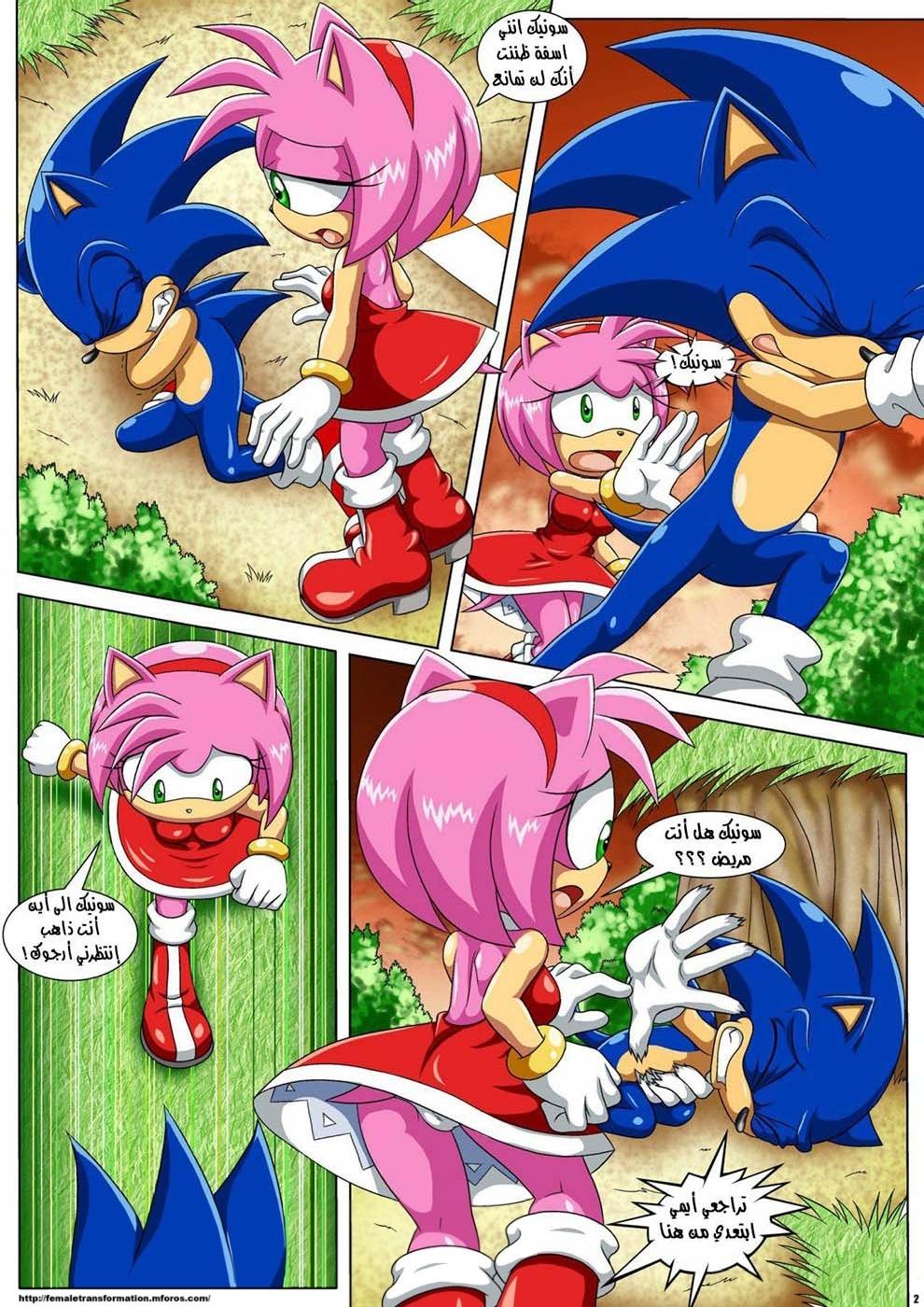The Werehog 1 (Arabic) - page02 Sonic,  xxx porn rule34