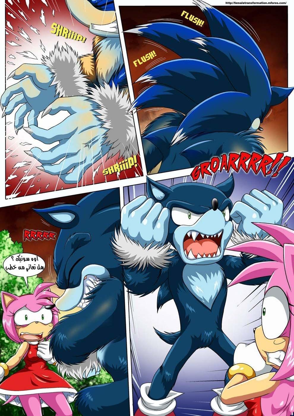 The Werehog 1 (Arabic) - page03 Sonic,  xxx porn rule34