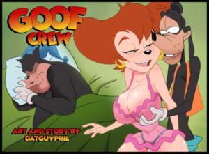 Goof Crew (English) - page00 Cover BurnButt