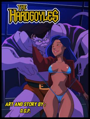 The Hardgoyles (English) - page00 Cover BurnButt