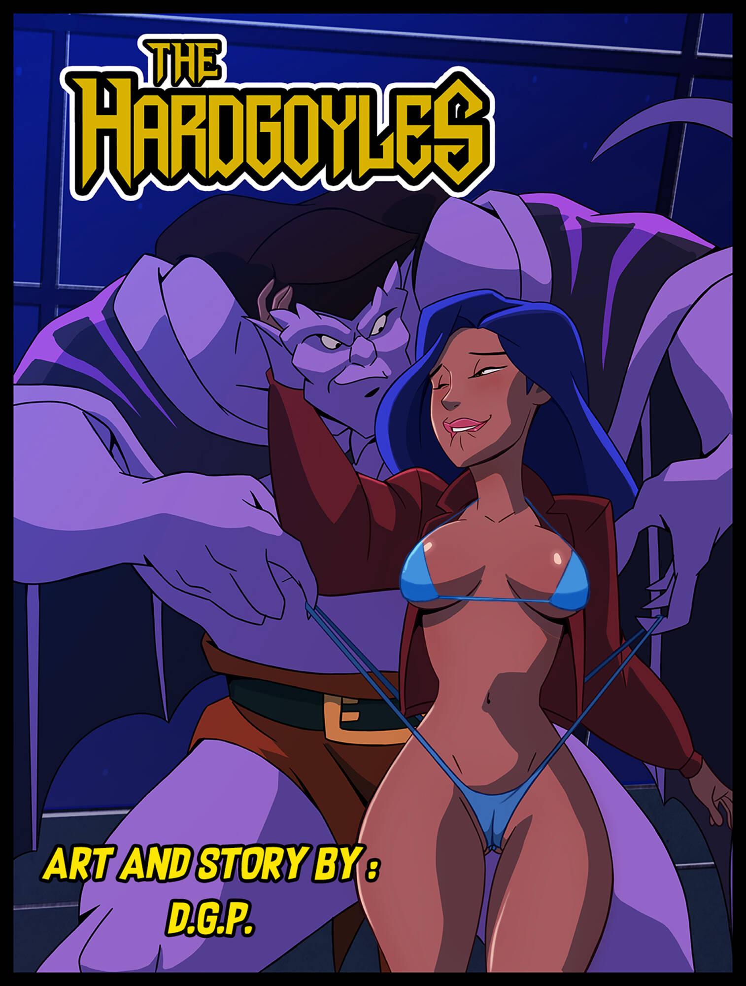 The Hardgoyles (English) - page00 Cover Gargoyles,  xxx porn rule34