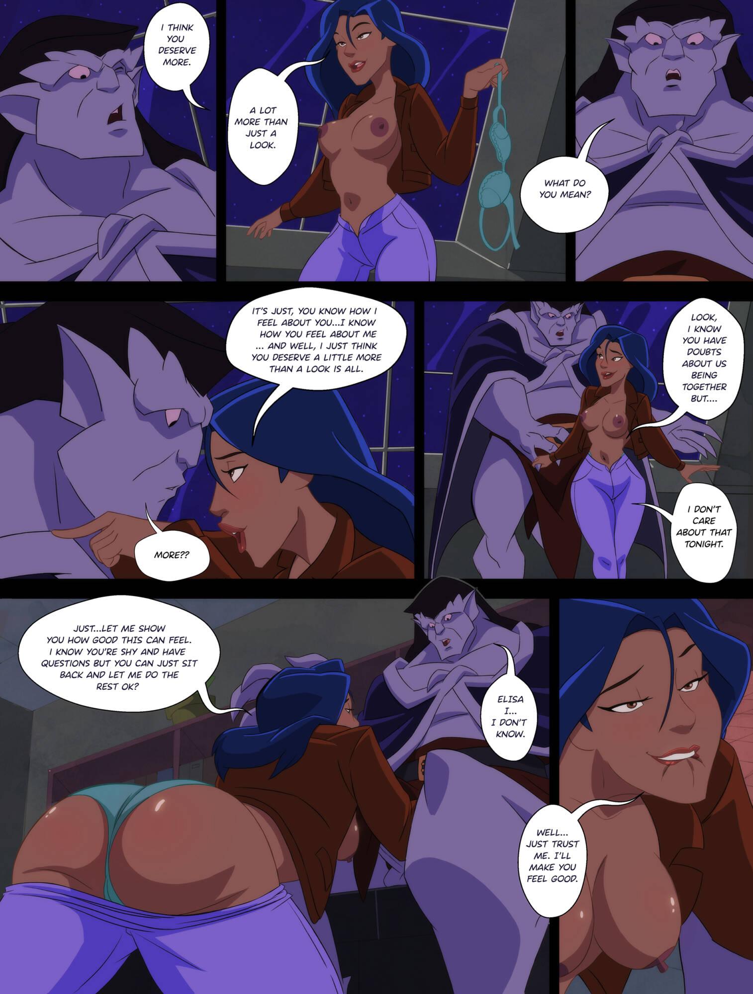 The Hardgoyles (English) - page02 Gargoyles,  xxx porn rule34